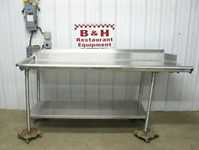84 Stainless Steel Heavy Duty Left Side Clean Hobart Dish Washer Table 7