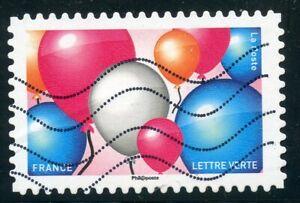 Aimable France Autoadhesif Oblitere N° 1558 Emoji / Emotions / Ballons Bon GoûT