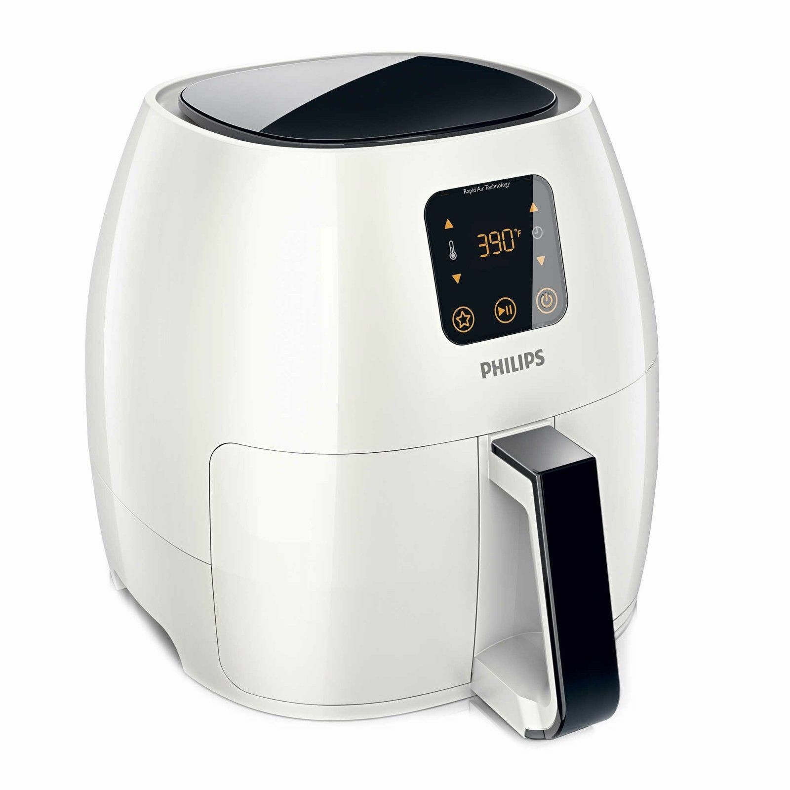 Philips Viva Avance Digital Electric AirFryer Healthy Cooking  - WHITE New