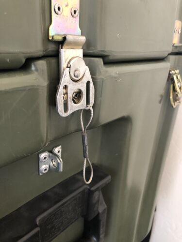 Pelican Hardigg Military Waterproof Lockable Storage Footlocker Prepper Special