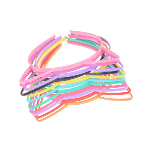 5pcs Hair Accessories Headdress Cat Ears Headband Kids HairHoop Cute Headweaha