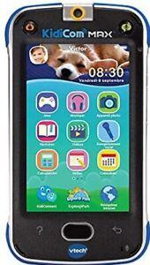 VTech – KidiCom Max Blau – Smartphone  ANDROID - Version FR