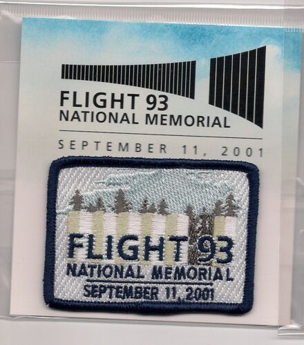 Flight 93 National Memorial Pennsylvania Souvenir Patch
