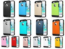 IPhone 7 Slim Hybrid Hard Armour Tough Shockproof Cover Case, New 14 Colors