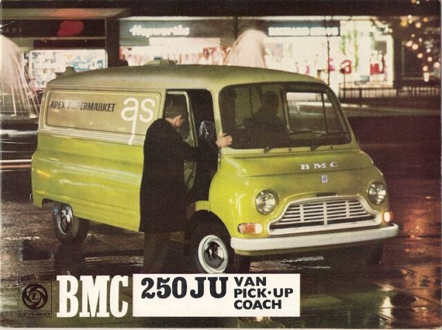 Austin Morris Bmc 250 Ju 1967 71 Uk Market Sales Brochure Van Pick Up Coach For Sale Online Ebay