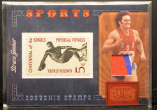 2010 Panini Century Souveinr Stamps BRUCE JENNER TrackField Jersey 11/12 RARE NM
