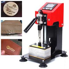 Rosin Extract Hot Stamping Machine Leather Press Logo Printing Bronzing Machine