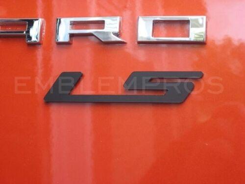 "2010-2015 Camaro /""LS/"" Emblem Badge w Choice of Color Composite"