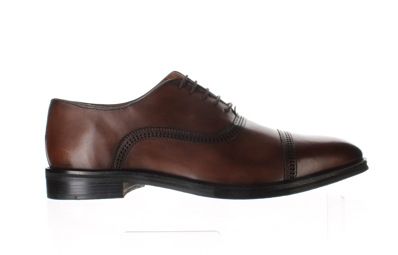 Kenneth Cole Mens Progress Cognac Oxford Dress Shoe Size 13 (1396036)