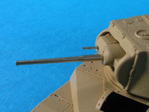 LION MARC LM50005 2-Pounder Mk.IX Barrel w//BESA Barrel for Matilda in 1:35