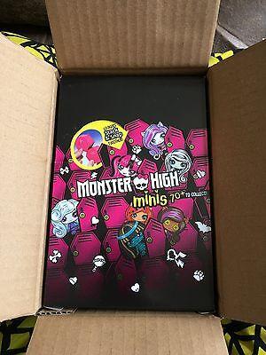 Monster High Minis~Season 1 Full Case of 20 Sealed Blind Packs~Factory Case~NIB