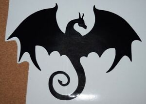 Bumper-Vinyl-Sticker-Car-decal-window-art-outdoor-Mythology-Flying-dragon
