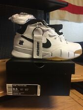043483db40c EXCLUSIVE Nike Kobe 1 Undefeated Protro White Black Gum AQ3635-100 SIZE 9.5