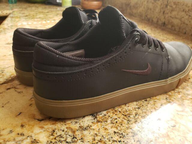 Nike SB TEAM EDITION Black Swan Gum Dark Brown (146) Men's Shoes Sz. 10.5
