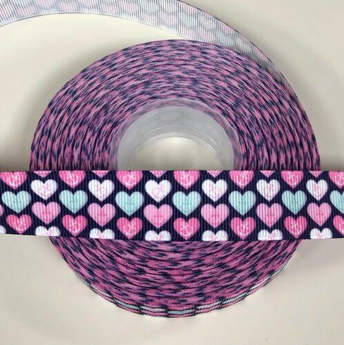 Ribbon Heart PacMan Stars Unicorns Hair Clips//Bows Craft Cake Mermaid Emoji