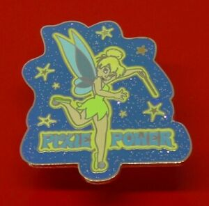 Used-Disney-Enamel-Pin-Badge-Tinker-Bell-Character-Pixie-Power-2005