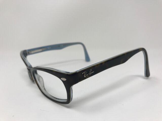 Authentic Ray Ban RB5150 5023 Women's Tortoise Blue Eyeglass Frames 50/19 BX33