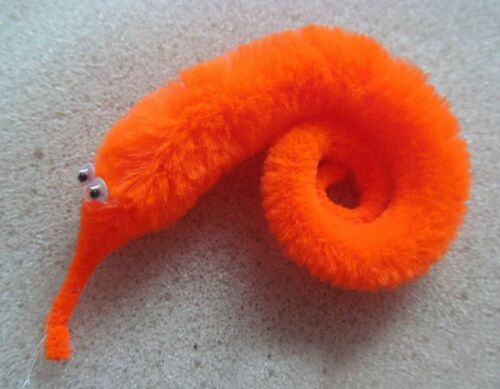 4PCS TRICK FURRY MAGIC TWISTY WORM TOY BOY GIRL PARTY CHRISTMAS STOCKING FILLER