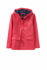 New-Crew-Clothing-Womens-Shower-Mac-in-Red