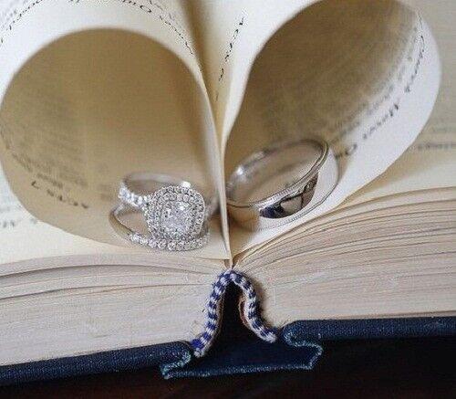 3.00 Ct Sim Diamond Engagement Ring 2-Matching Wedding Bands 14K White Gold Fn
