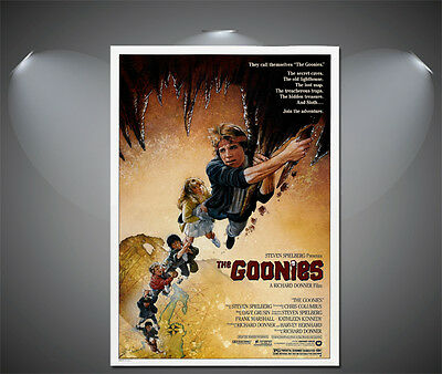 The Goonies Vintage Movie Poster - A1, A2, A3, A4 sizes