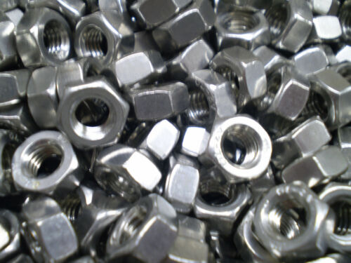 10 Muttern Edelstahl 10 Schrauben Din 912 M6 x 80 mm Rostfreier Stahl
