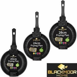 Blackmoor  Stone Non Stick Frying Pan Induction Base Cool Handle 20cm 24cm 28cm