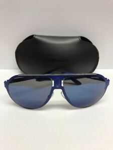 Carrera-Champion-Aviator-Sunglasses-Blue-6VXXT-Made-in-Italy-Authentic-w-Case