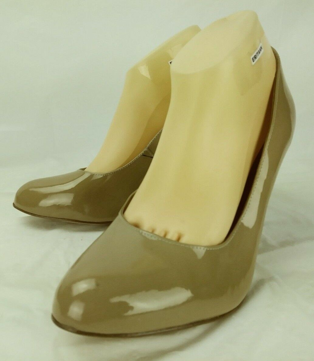 Corso Como Womens Shoes Heels US 11 M Beige Patent Patent Beige Leather Slip-on 182 a49c6f