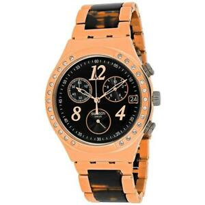 Orologio-Swatch-acciaio-donna-Cronografo-analogico-bracciale-in-acciaio-YCG404GC
