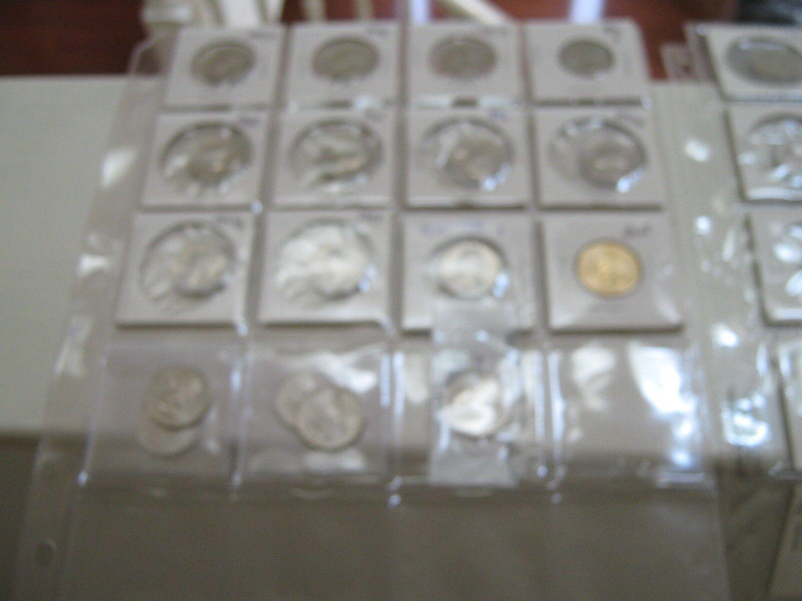 Washington Quarters , Mixed Lot of 33 , 1967-2013 , UnC