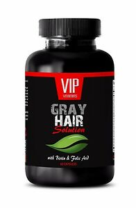 Biotin-GRAY-HAIR-SOLUTION-DIETARY-SUPPLEMENT-Gray-hair-care-60-Caps