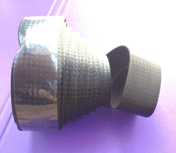 Carbonlook manillar banda bar tape bicicleta de carreras pinzamientos pinzamientos pinzamientos corcho manillar banda negro nuevo 5d3ddb