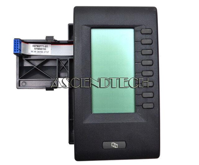 Nortel M3900 8 Programmable Button Digital Display Expansion Module  Ntmn675070