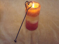 Unique Rustic Heart Smokeless Wick Dipper Candle Snuffer Stocking Stuffer