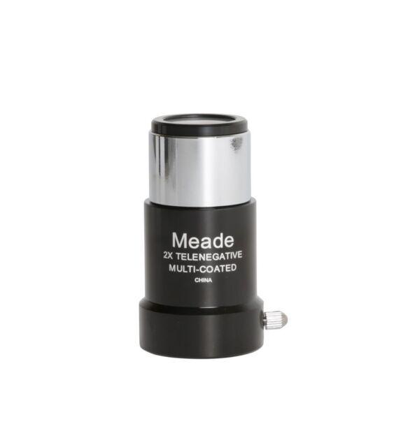 """Meade Series 4000 #126 2X Short-Focus Barlow Lens (1.25"""")"""