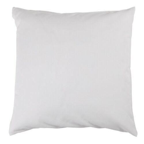 Kissenbezug 50x50 cm Uni einfarbig Baumwolle Canvas Kissenhülle Kissen Deko
