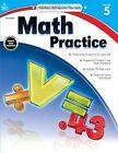 Math Practice, Grade 5 by Carson Dellosa Publishing Company (Paperback / softback, 2014)