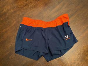NWT-Virginia-UVA-Cavaliers-Women-039-s-Soccer-Team-Issued-Nike-Dri-Fit-Shorts-Medium