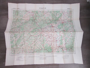 Details about World War 1 WW1 Map North West Europe France Sheet 6 Ordnance  Survey 1914