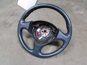 Maserati-Coupe-Spyder-Steering-Wheel-Leather-Dark-Blue-Used-P-N-18351402