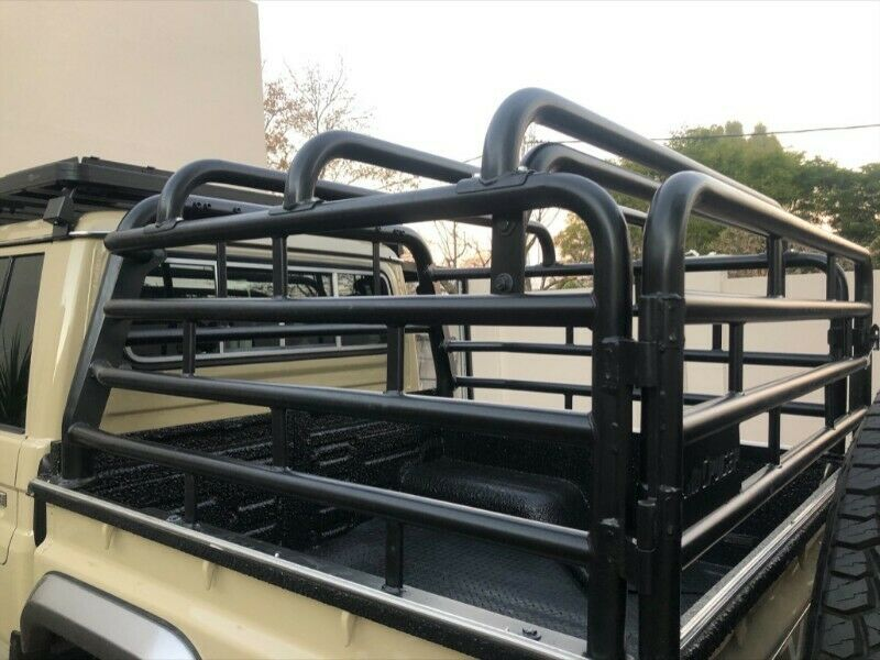 Toyota Land Cruiser 79 Double Cab Cattle Rail And Cover For Sale!
