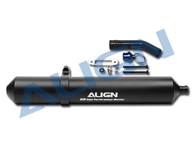 Align alto rendimiento 50 escape-negro
