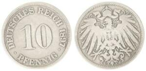 Imperio 10 Peniques J. 13 1897G (4) Delgado G ! MBC 34531
