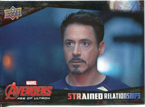 Captain America Civil War Strained Relationships Chase Card SR-7 Avengers Age