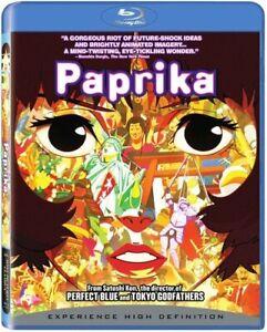Paprika-Blu-ray-Disc-2007-Nuevo-Sellado-De-Fabrica-Envio-Gratuito