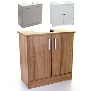 Image Is Loading Under Sink Cabinet Basin Storage Unit Cupboard Bathroom