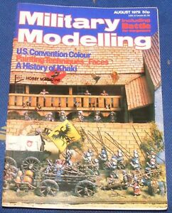 MILITARY-MODELLING-AUGUST-1979-U-S-CONVENTION-COLOUR-A-HISTORY-OF-KHAKI