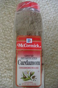NEW-WITH-SEALED-MCCORMICK-GROUND-DECORTICATED-CARDAMOM-16OZ-453g