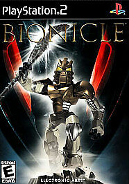 Bionicle - The Game (Sony PlayStation 2, 2003) PS2 EA LEGO - Tested